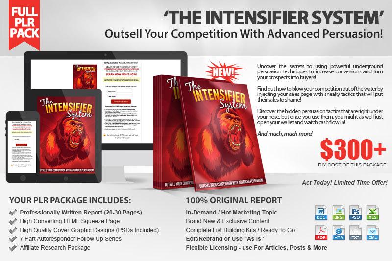 The Intensifier Kit