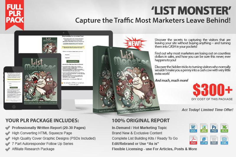 List Monster Kit