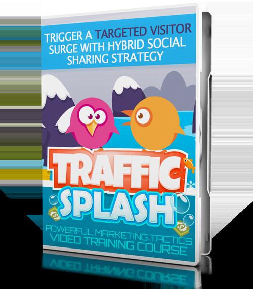 Traffic Splash Video Course