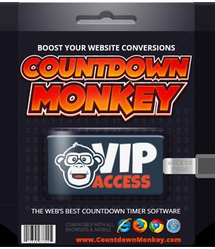 Countdown Monkey Software